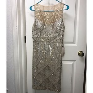 Sue Wong - NWT - Beaded Cocktail Dress